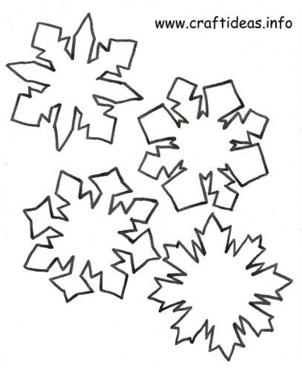DIY Snowflake Crafts