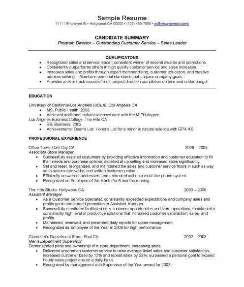 Effective Real Life Resume for College Graduates  hubpages