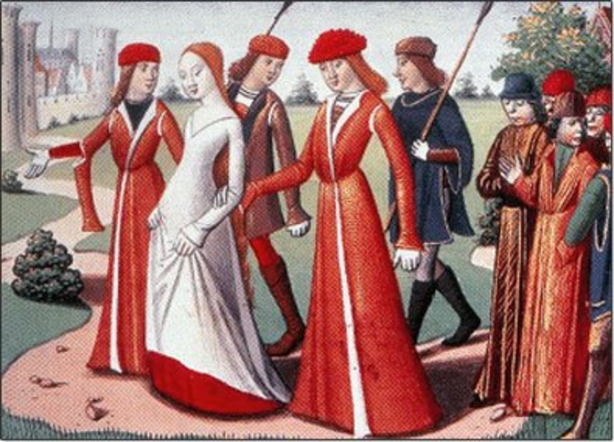 Fashion History Of The High And Late Middle Ages Me Val