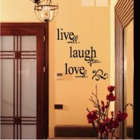 Live Laugh Love Wall Dcor: From Wall Decals to Hanging ...