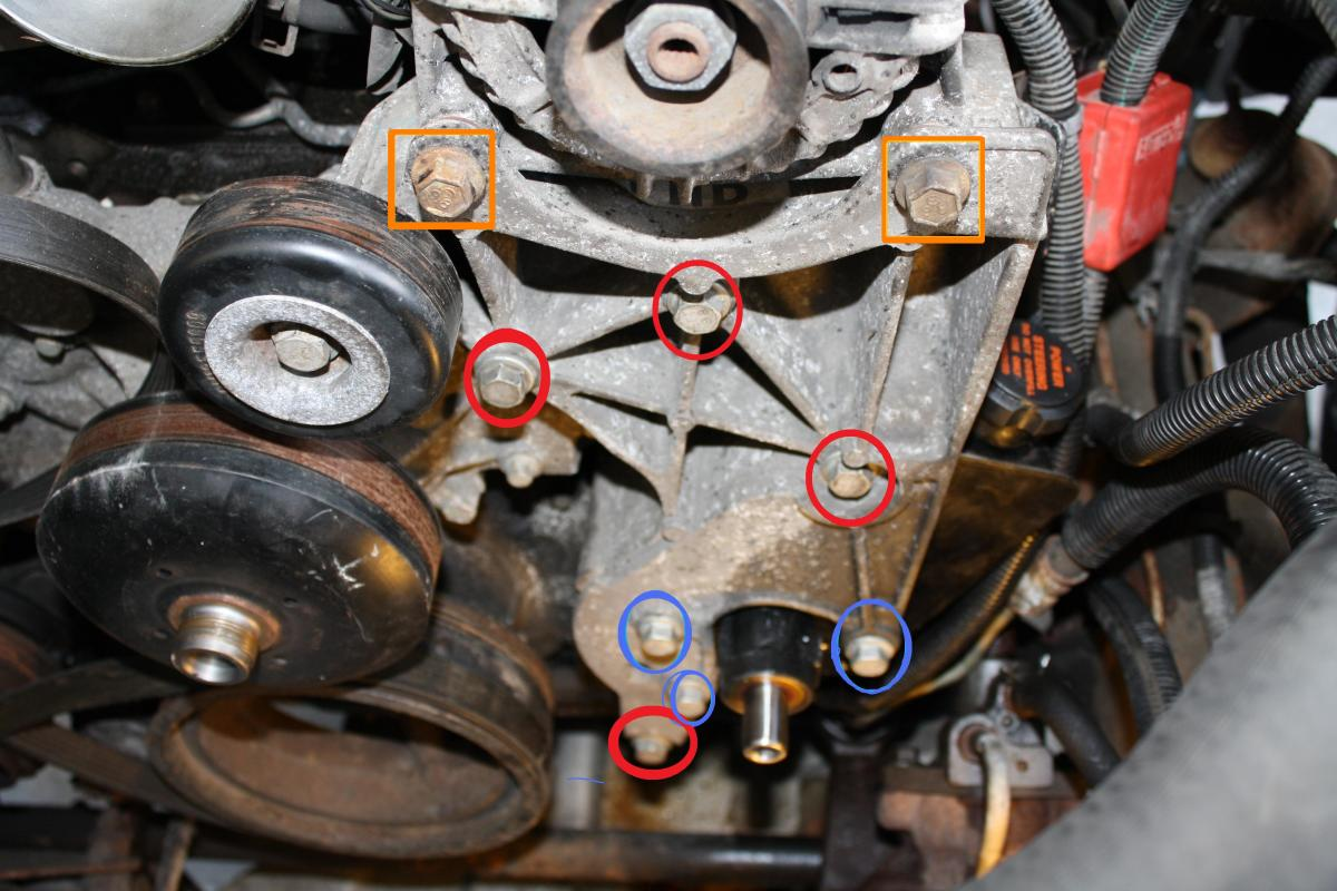 83 Chevy Alternator Wiring Diagram Replace Your Chevy Or Gm Power Steering Pump Axleaddict