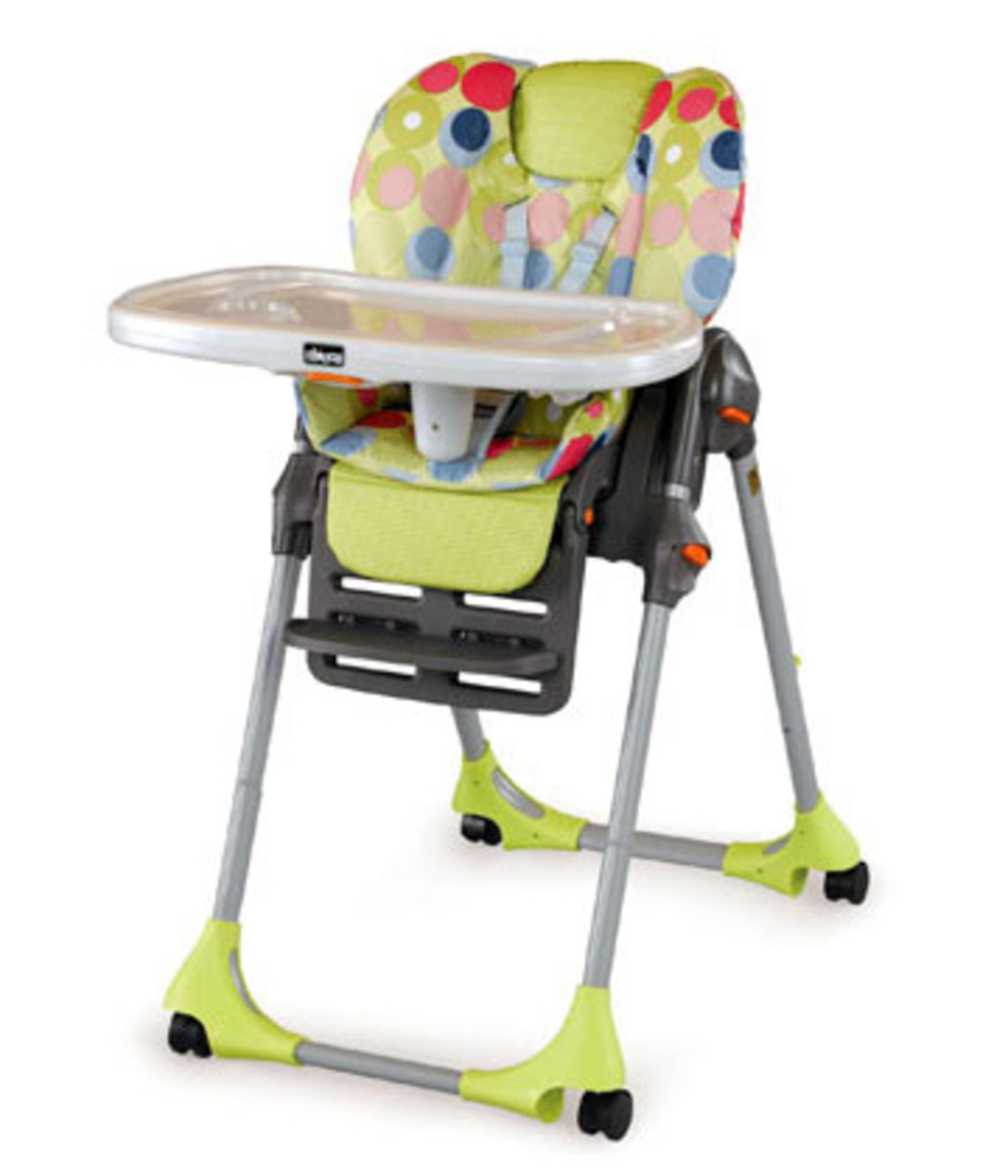 Chicco Reviews  The Chicco Polly High Chair  HubPages