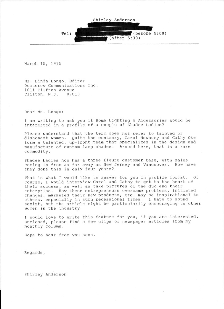 Sample Query Letter For Magazine Submission | Cover Letter ...