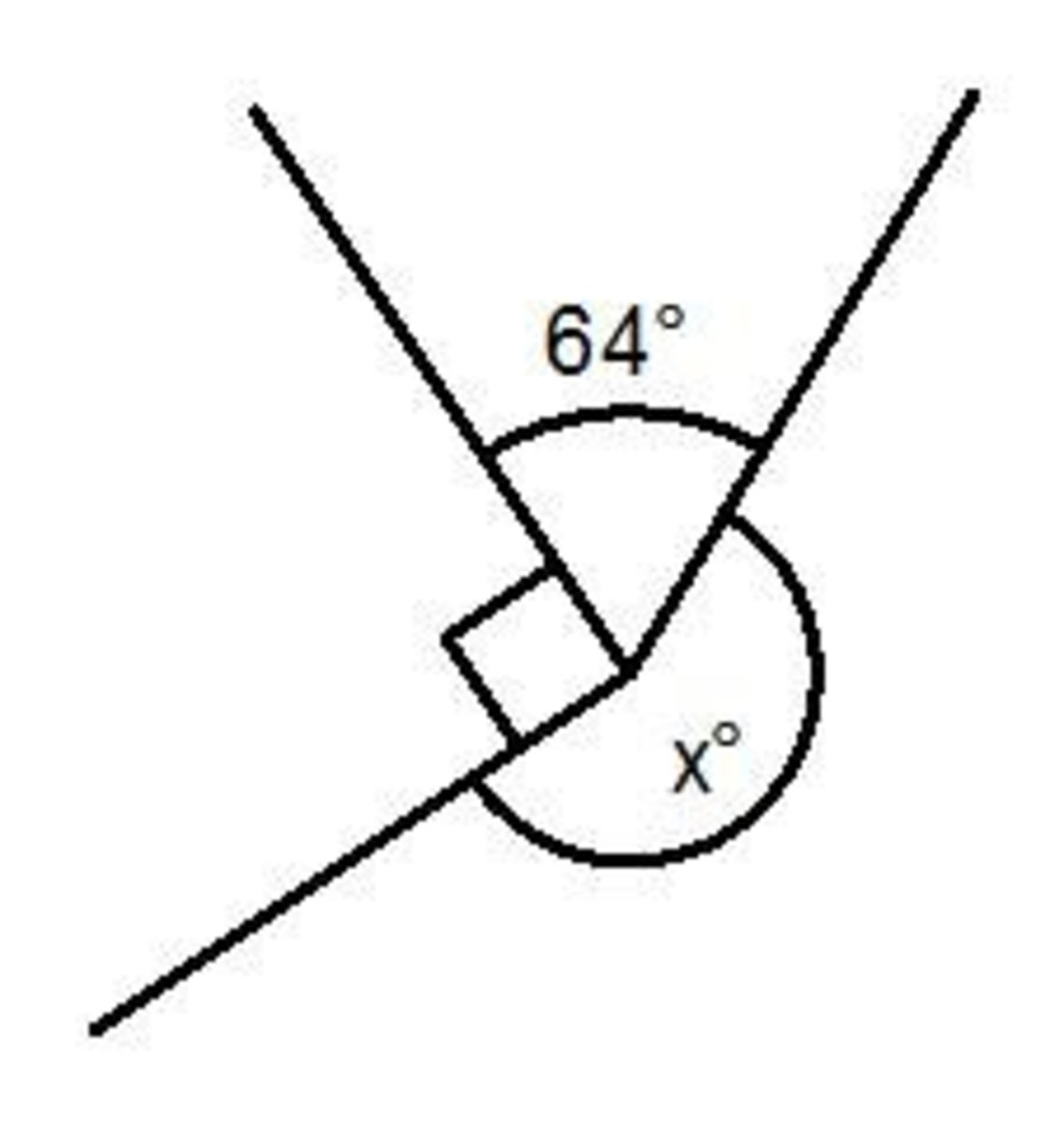 Basic math angle facts; angles in a triangle, on a