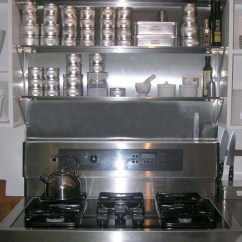 Stainless Steel Kitchen Shelf Valances For Kitchens Using Over The Range Shelves To Store Your