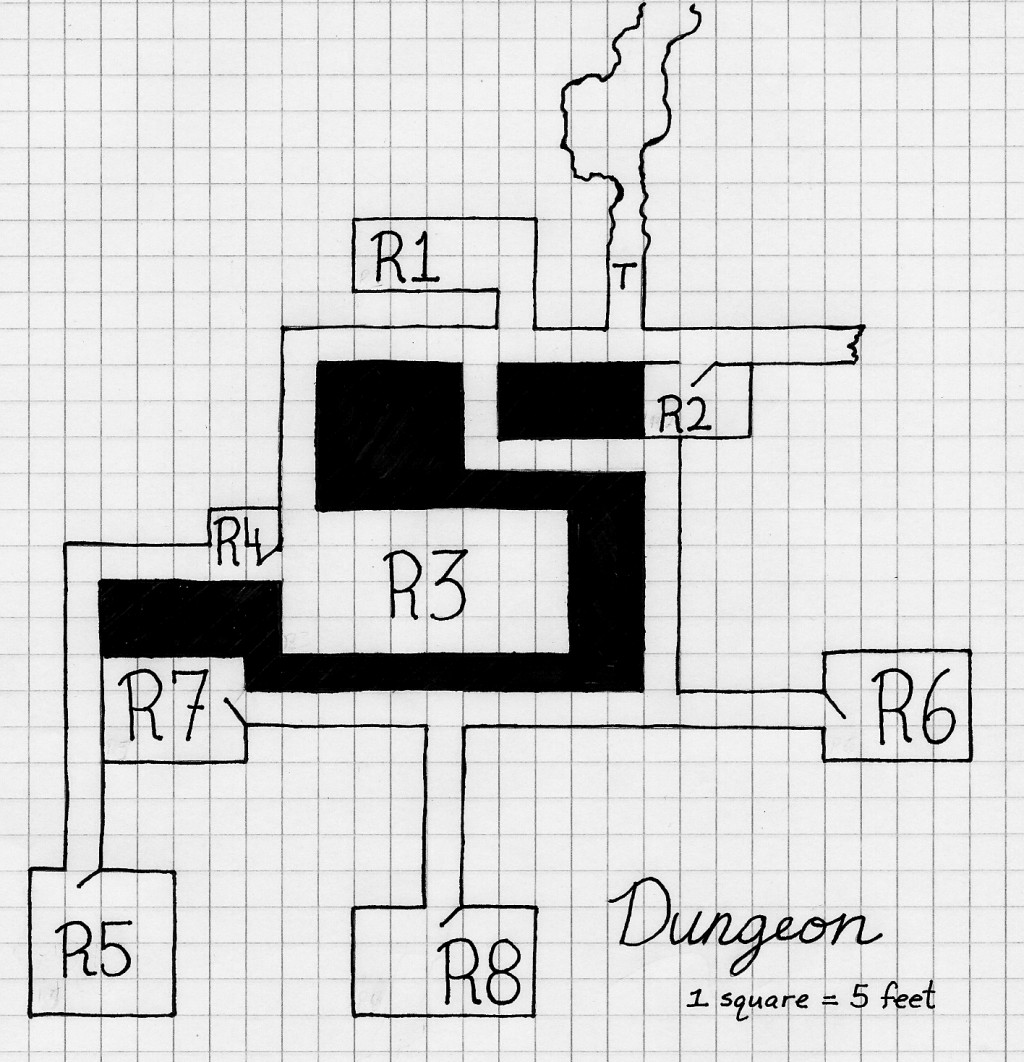 Dungeons & Dragons 3.0/3.5 Premade Dungeon:
