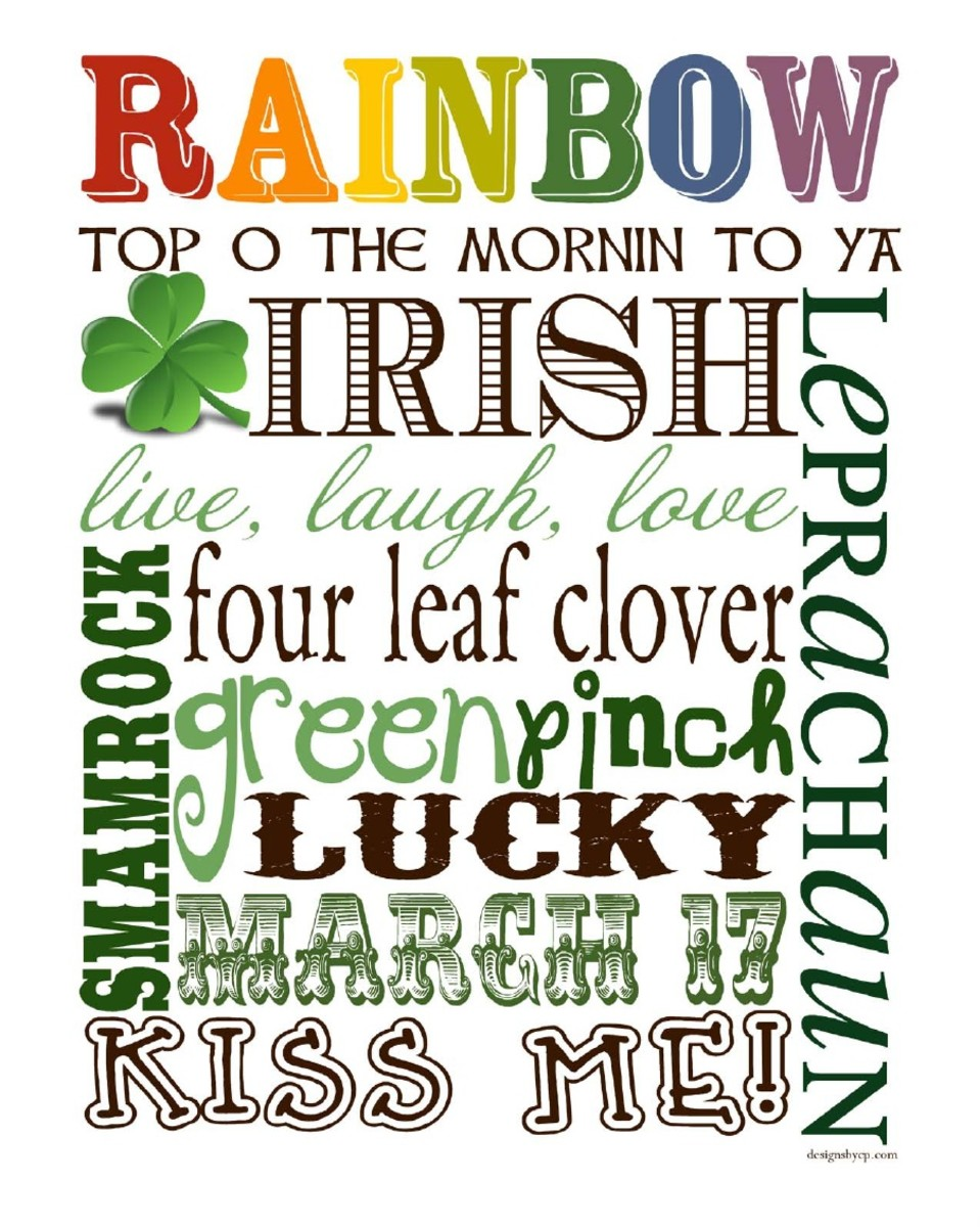 22 Free Printables For St Patrick S Day