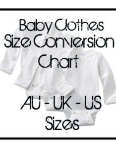 You may legally repin this image also convert baby clothes size chart american australian  europe rh hubpages