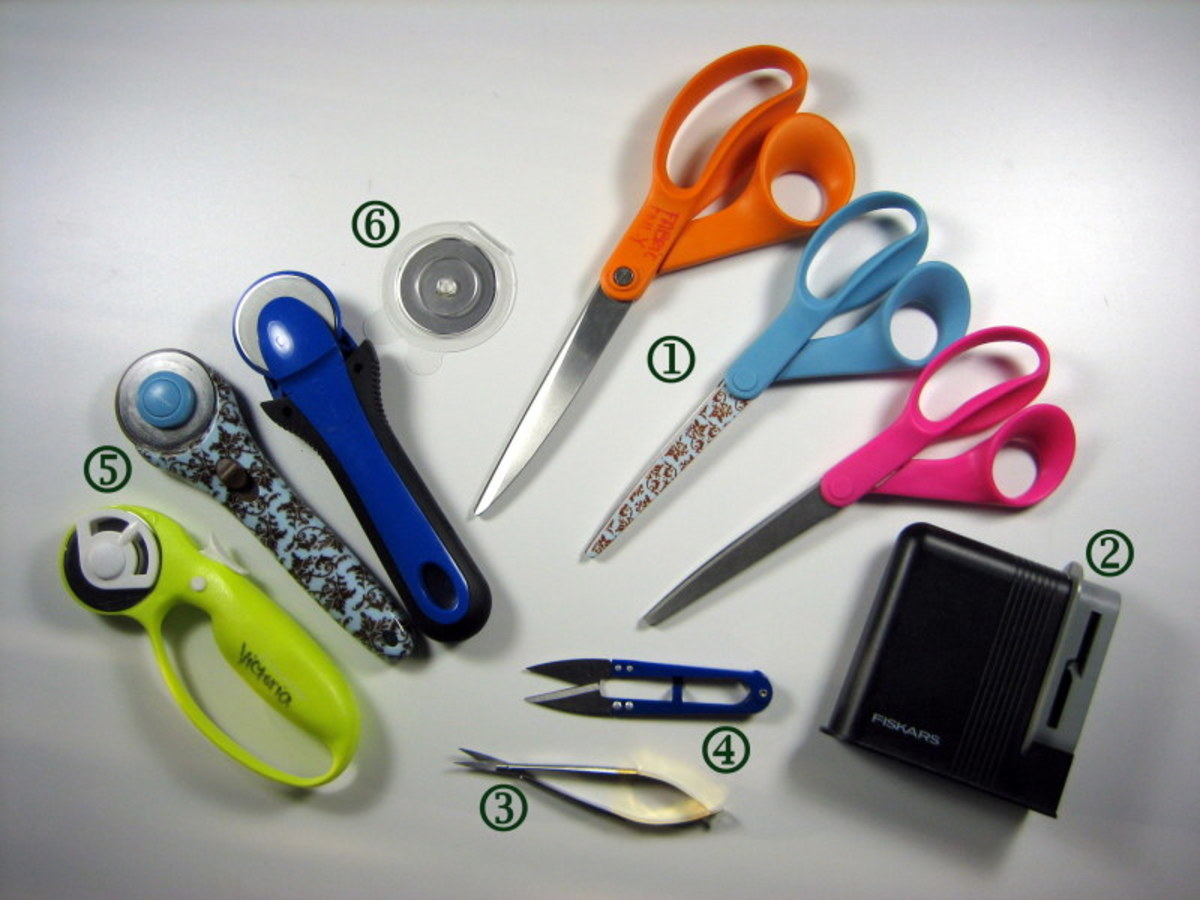 Types Of Sewing Tools And Equipment In Dressmaking