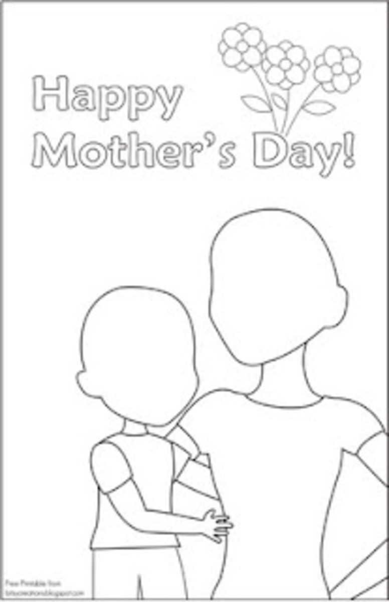 Mother's Day Free Printables: Cards, Coupons, Coloring