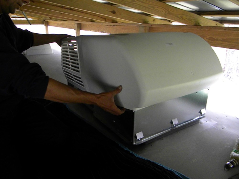 medium resolution of how to replace or install an rv or travel trailer rooftop air conditioner