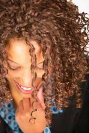 control curly frizzy hair