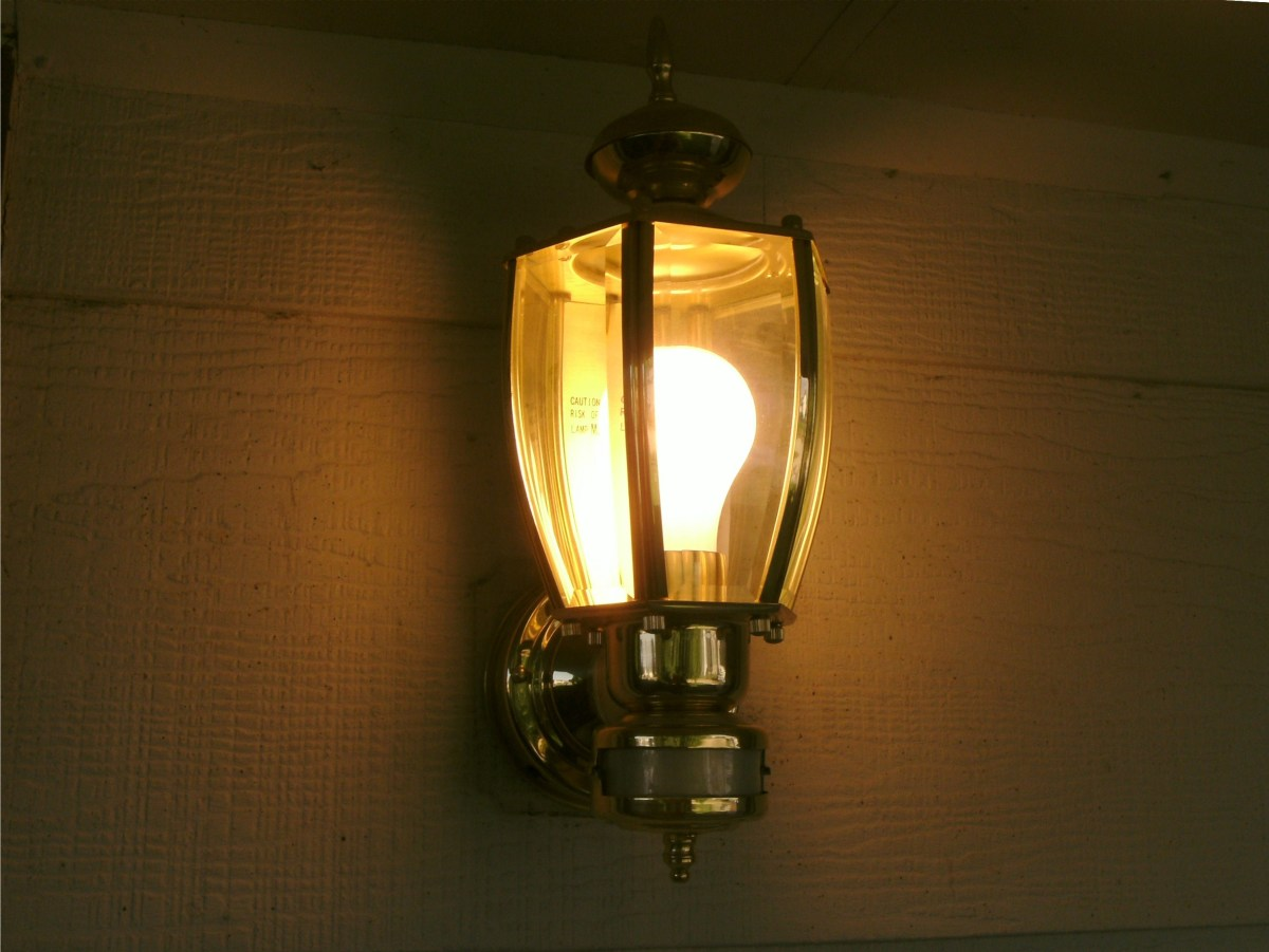 Motion Sensor Front Porch Light