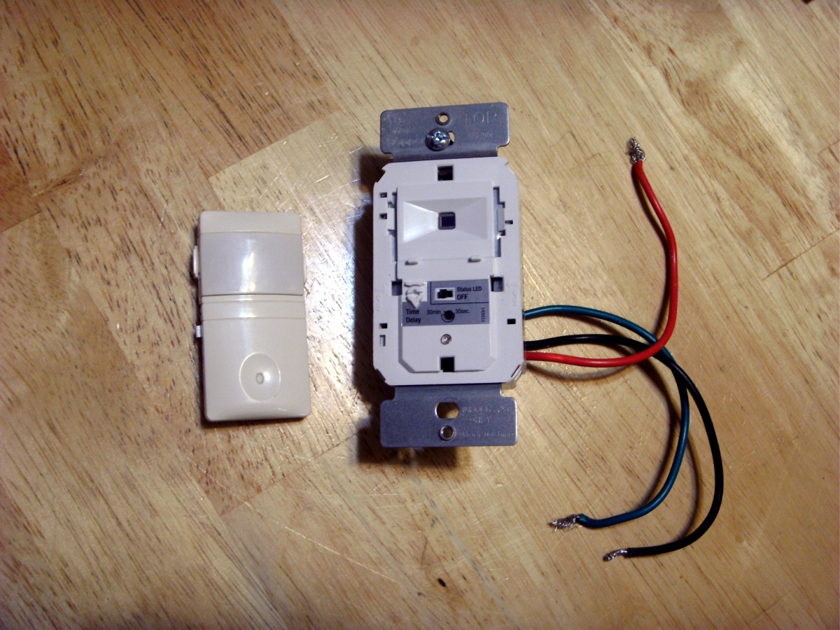motion sensor light switch wiring diagram 2001 ford f250 trailer how to install a dengarden the faceplate of same has been removed exposing time delay setting