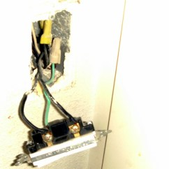 Motion Sensor Light Switch Wiring Diagram Parrot Ck3100 How To Install A Dengarden The Has Been Pulled From Wall With Power Turned Off Exposing
