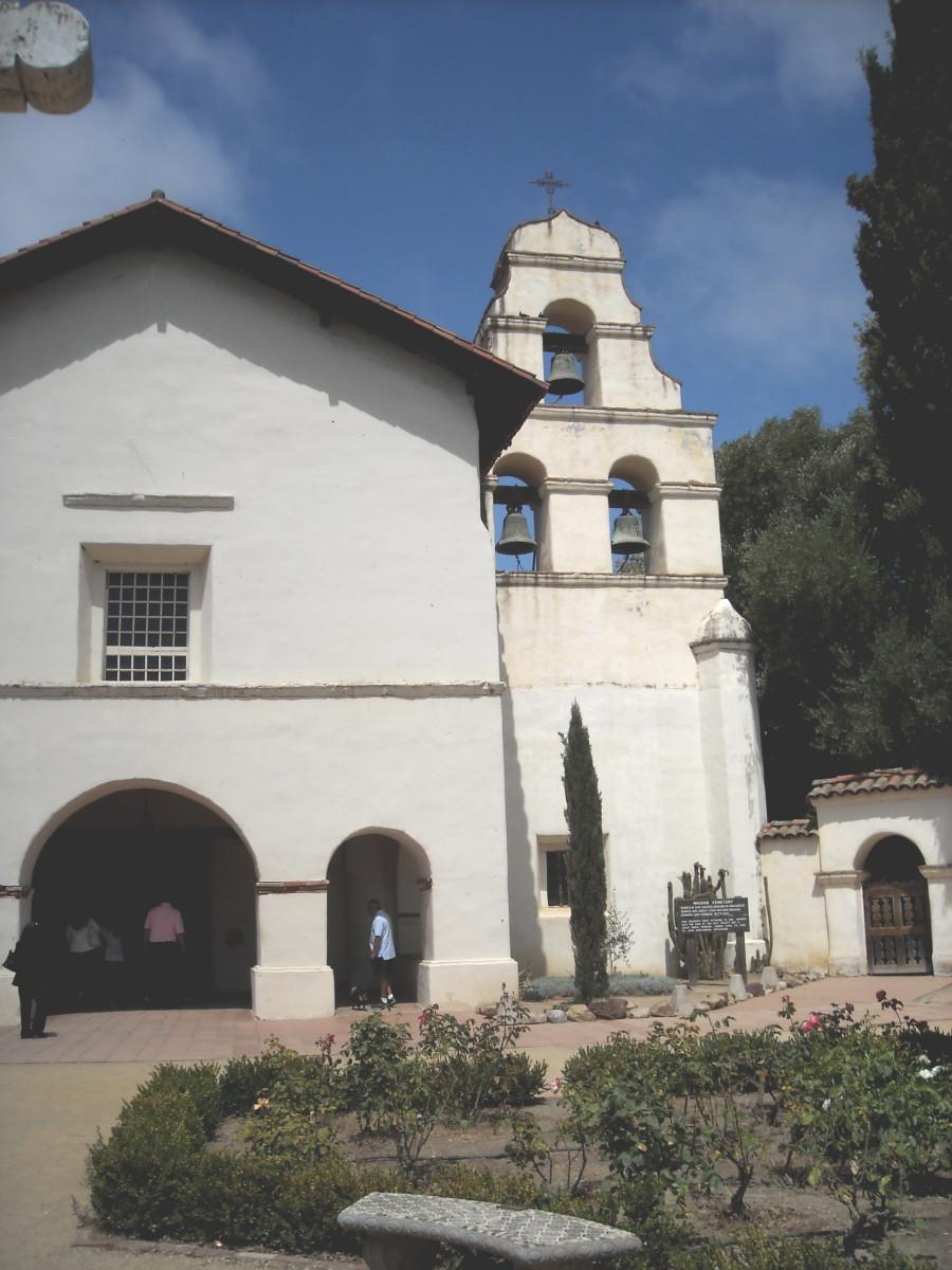 San Church Juan Bautista California