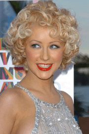 pin curls hairstyle