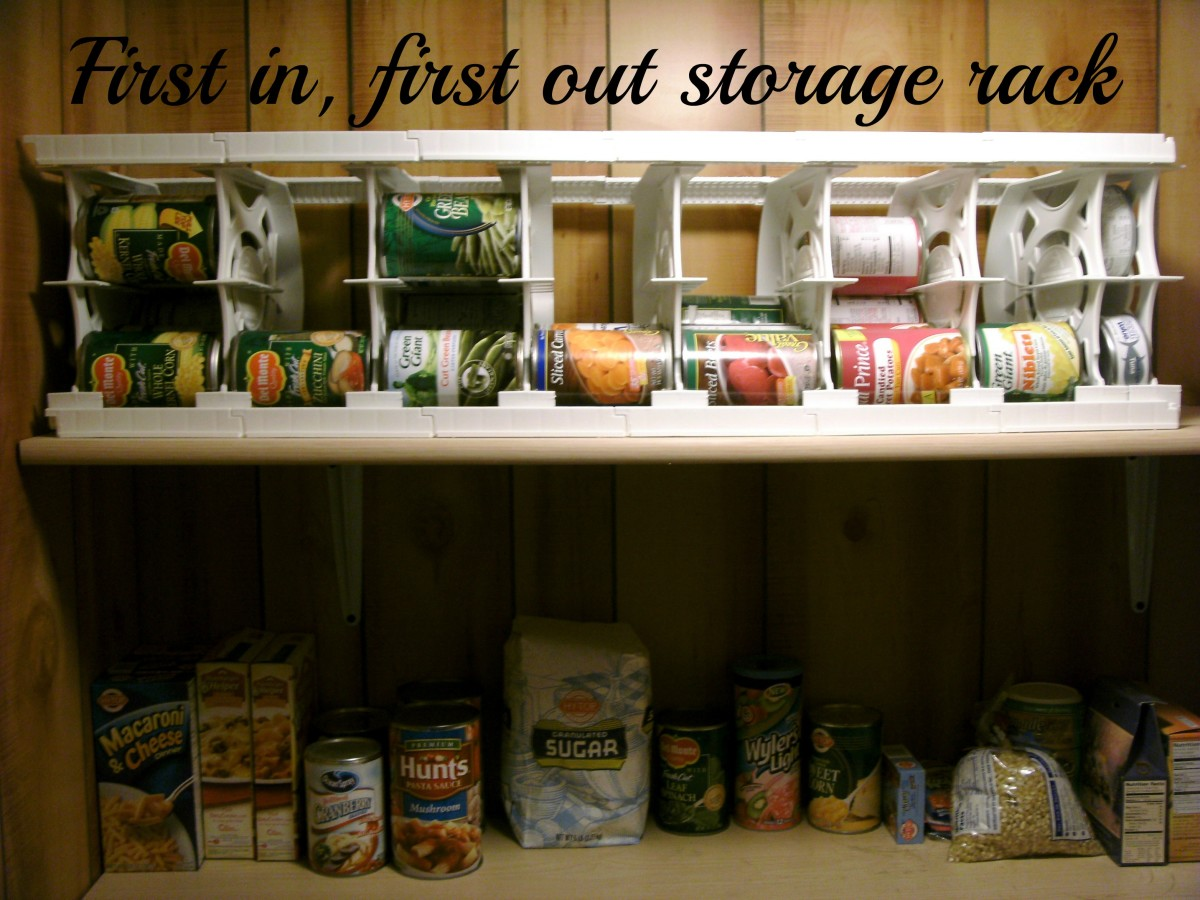 Can Canned Food Goods Storage Rack  Best Pantry Storage