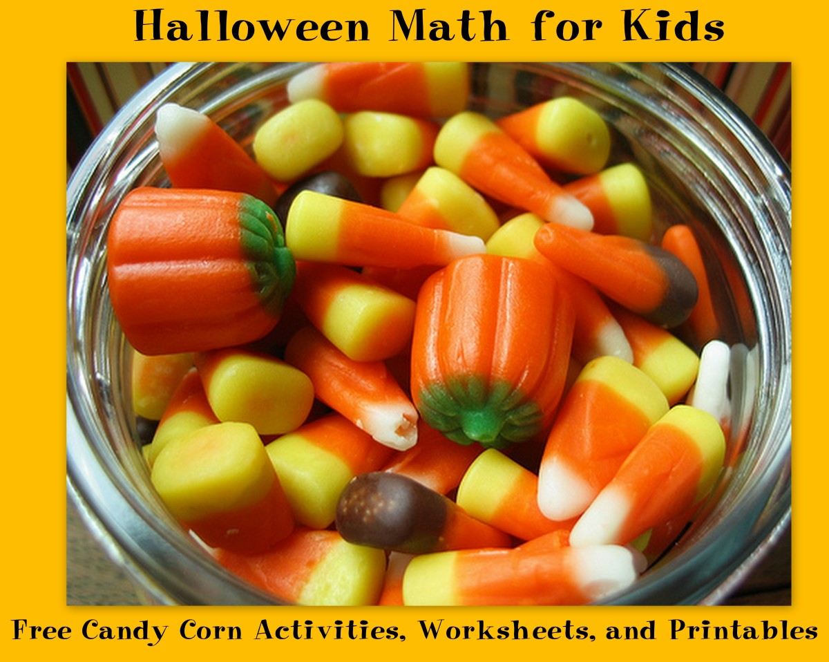 Halloween Math For Kids Free Candy Corn Activities