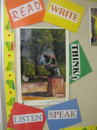 Bulletin Boards and Wall Dcor for High School English