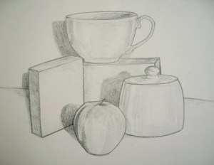 still drawing draw examples pencil sketch shapes shades objects drawings shading sketches sketching step shadow contour stuff tonal line hubpages