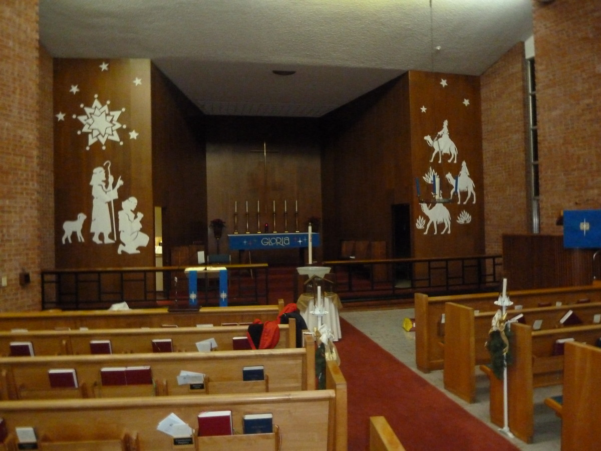 Decorating The Church And Altar For Advent And Christmas A