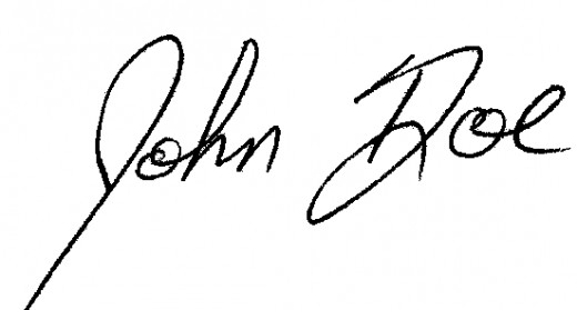 How to Learn Who Someone is by Their Signature Alone