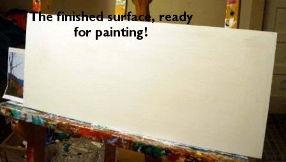 make your own canvas