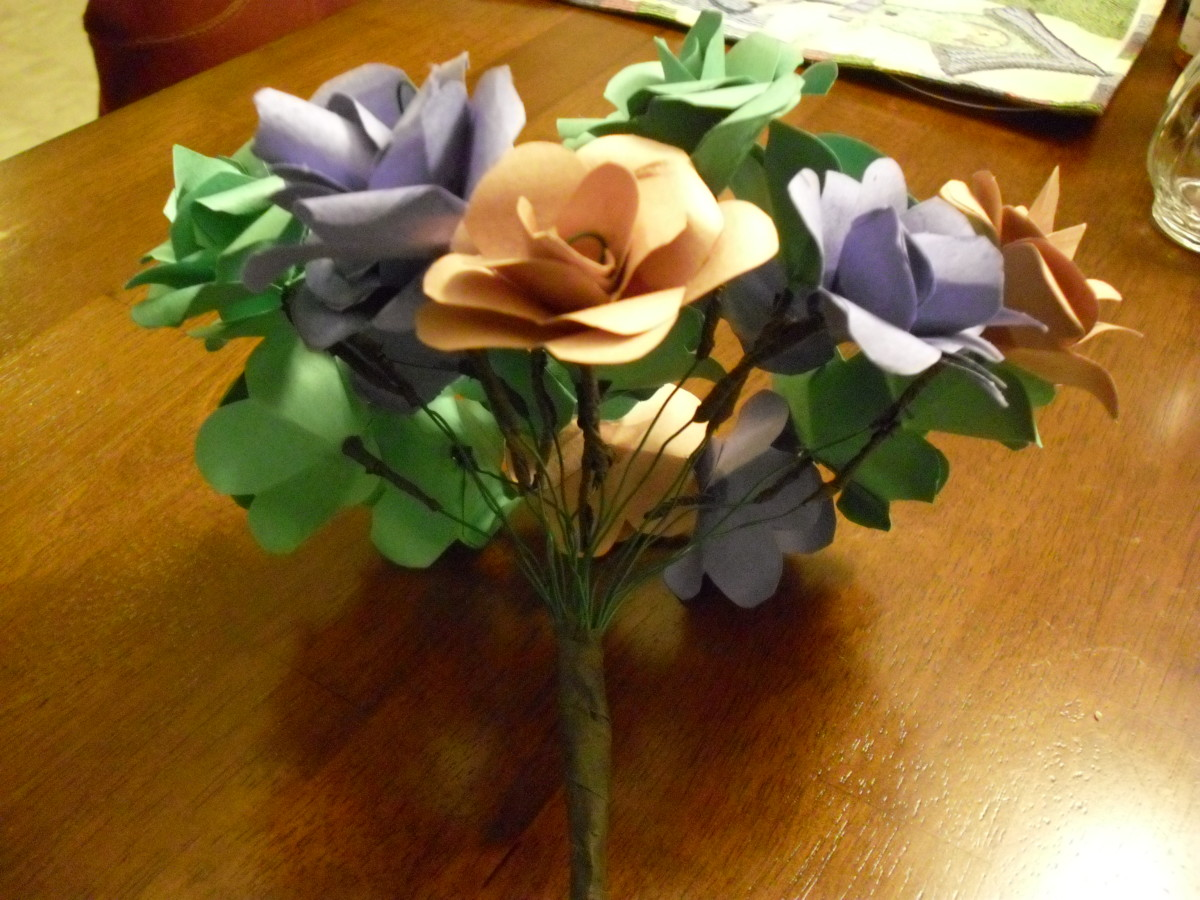 How to Make Paper Flowers with Construction Paper  HubPages
