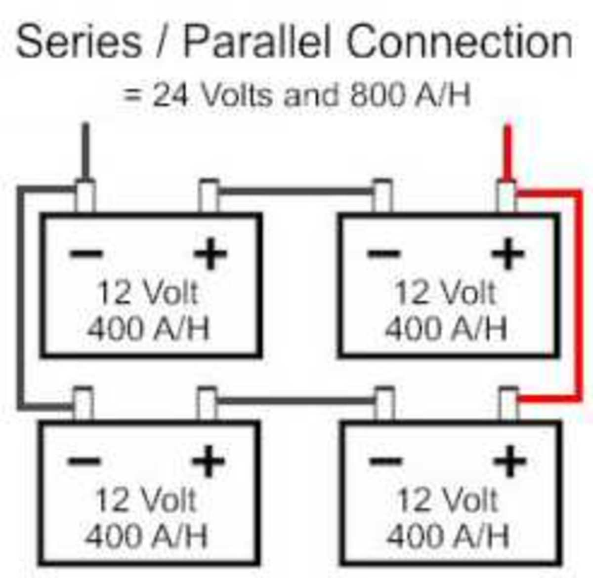 Connecting Batteries: Serial/Parallel/Serial and Parallel