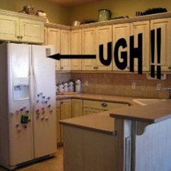 Finance Kitchen Cabinets Pictures Of Furniture Planning...with A Counter Depth Refrigerator ...