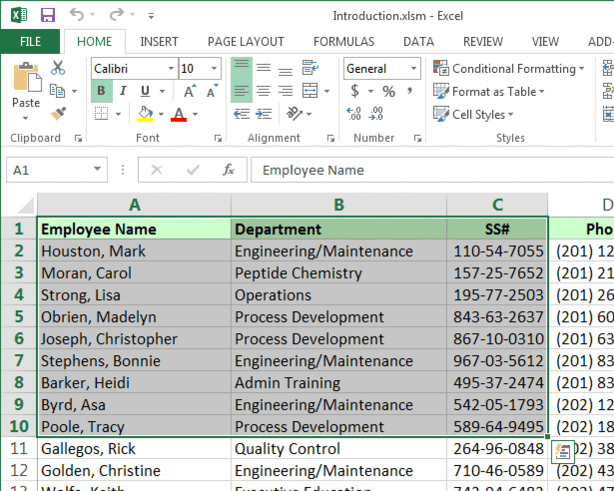 How to Insert an Excel Table Into Microsoft Word | TurboFuture
