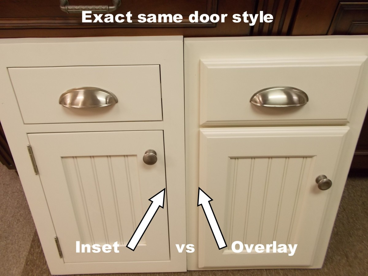 Inset Kitchen CabinetsBeaded Inset vs Plain Inset