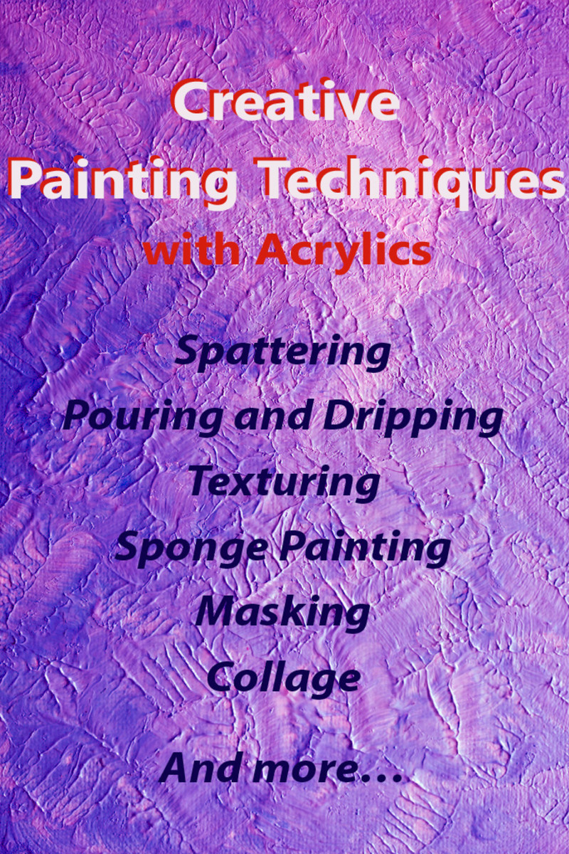 How To Paint With Acrylics Creative Painting Techniques