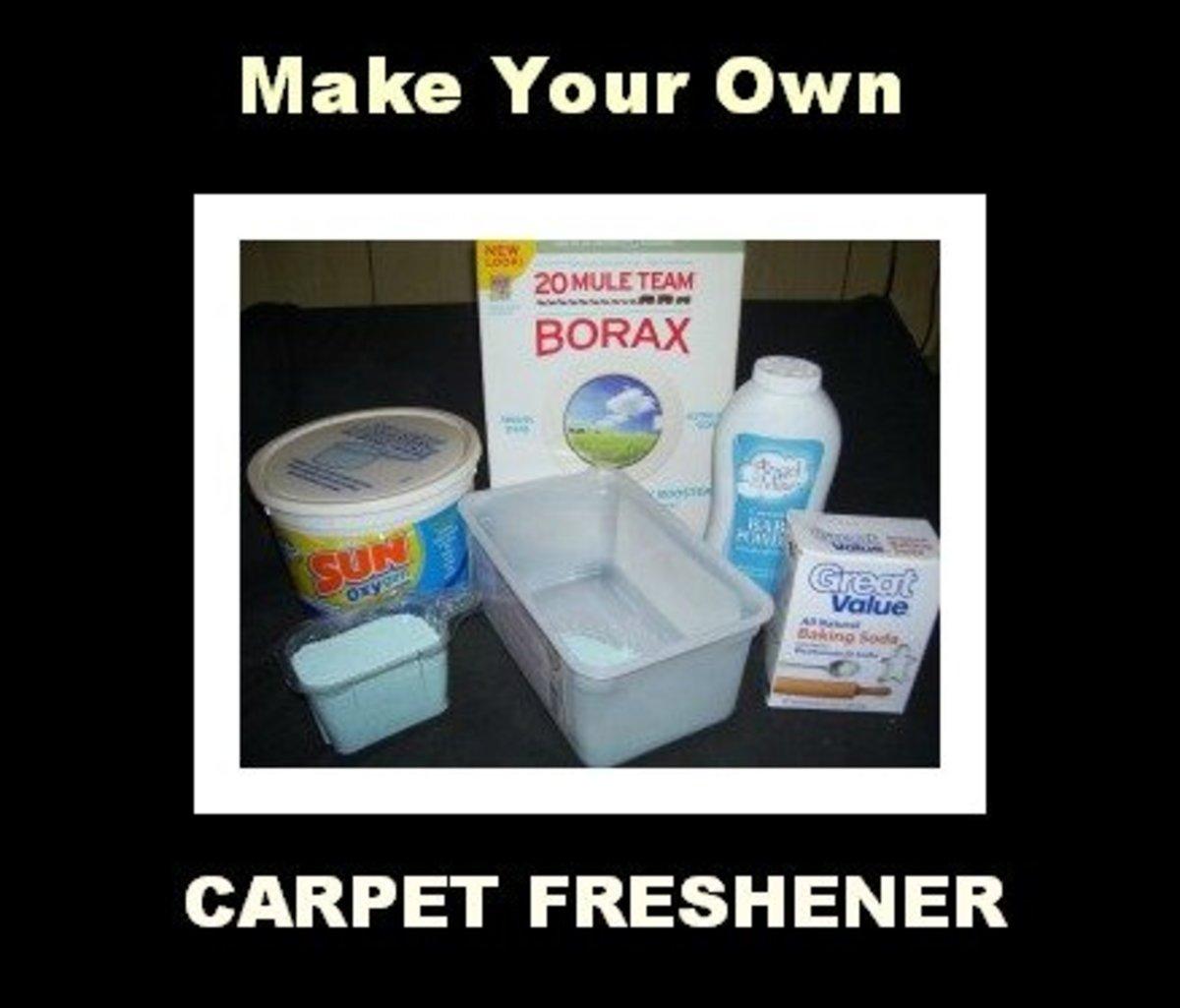 Make Your Own Easy and Cheap Carpet Freshener  Dengarden