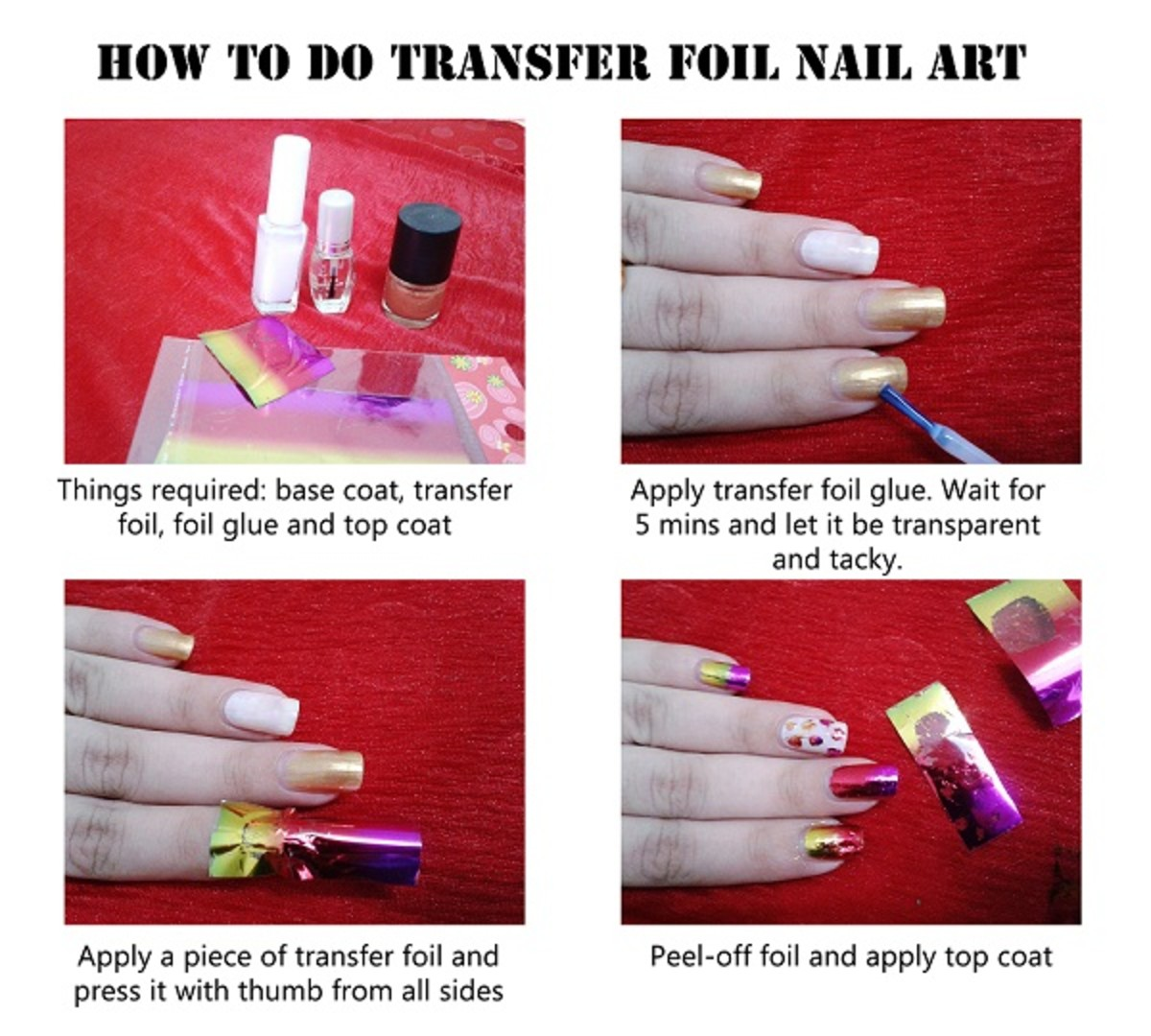Have You Tried Transfer Foil Nail Art Before