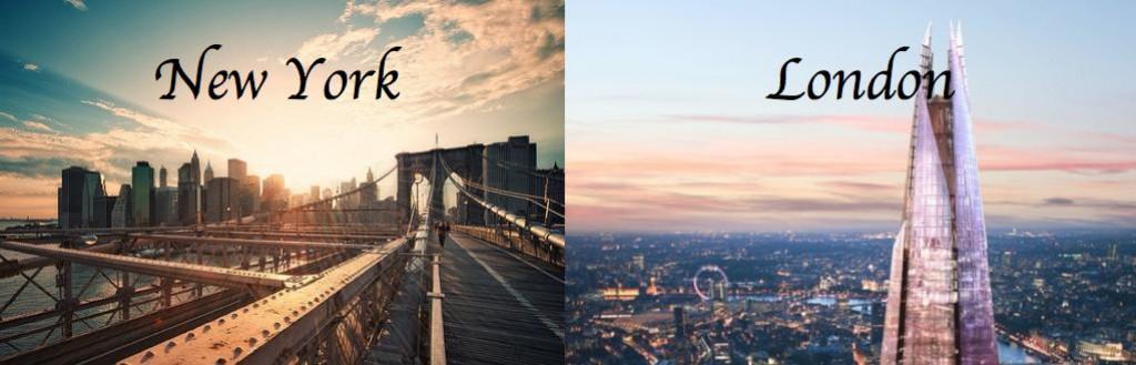 New York vs London  hubpages