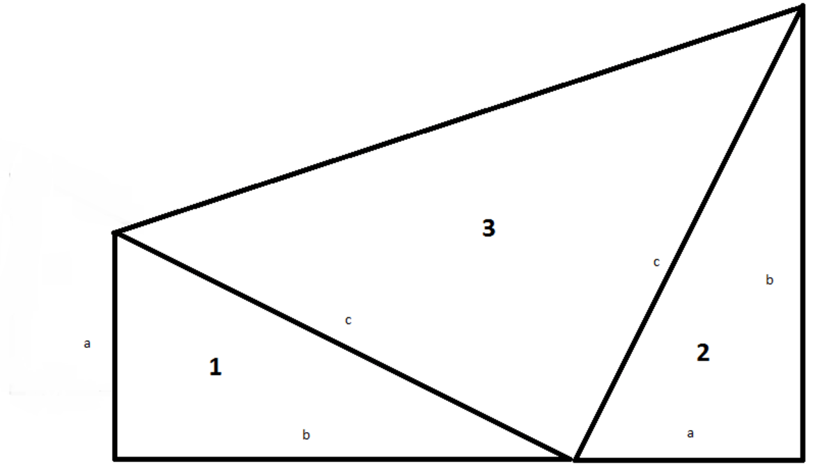 Early Proofs of the Pythagorean Theorem by Leonardo Da