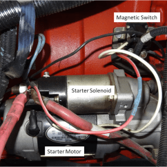 Auto Starter Motor Wiring Diagram Beach Volleyball Court Diy Service Diagnosis And Repair Axleaddict