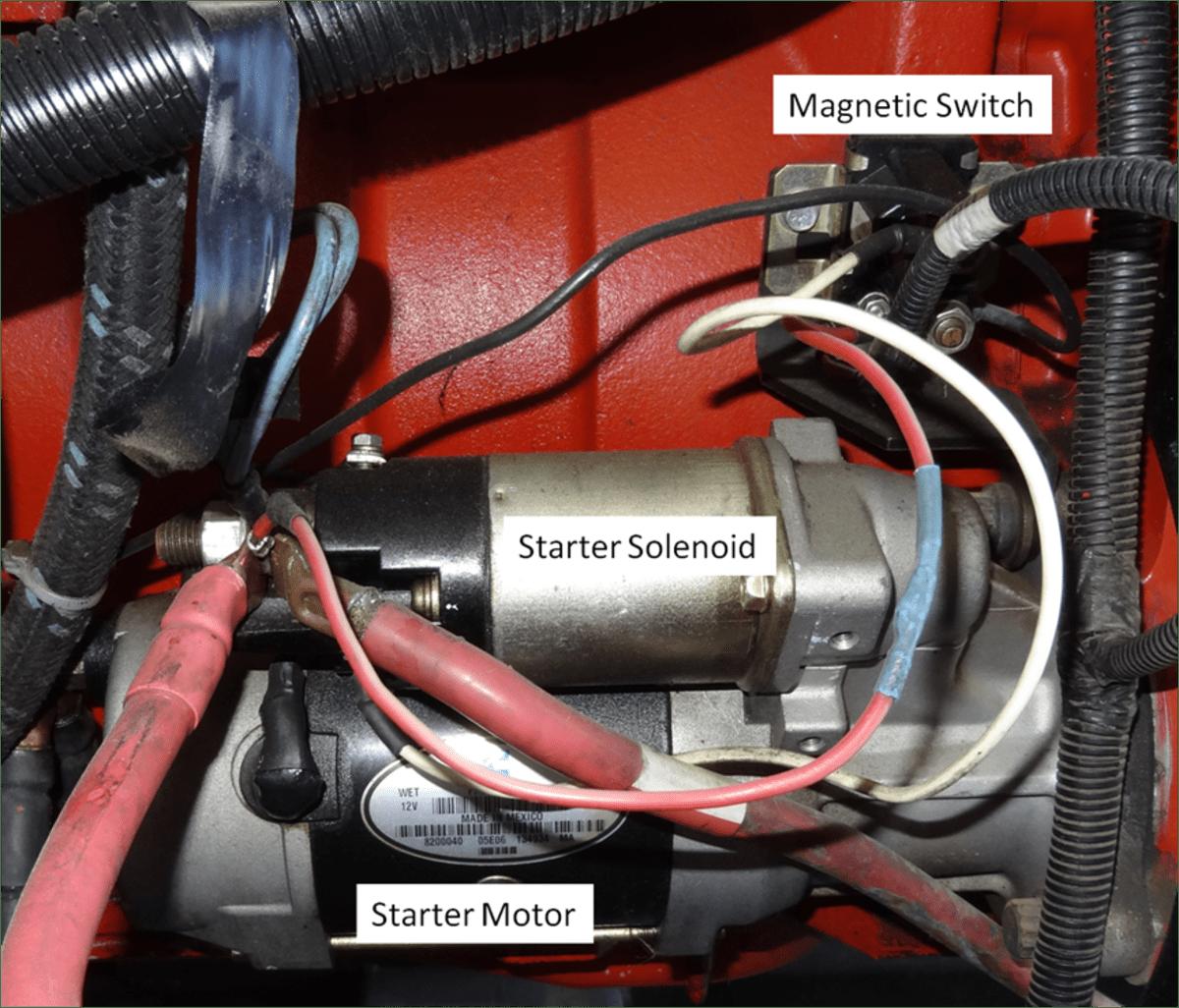 car starter motor wiring diagram fishbone template ppt diy auto service diagnosis and repair axleaddict