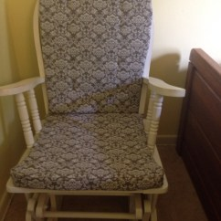 Cushions For Glider Chairs Non Rolling Desk Chair How To Make Or Repair Rocking Dengarden