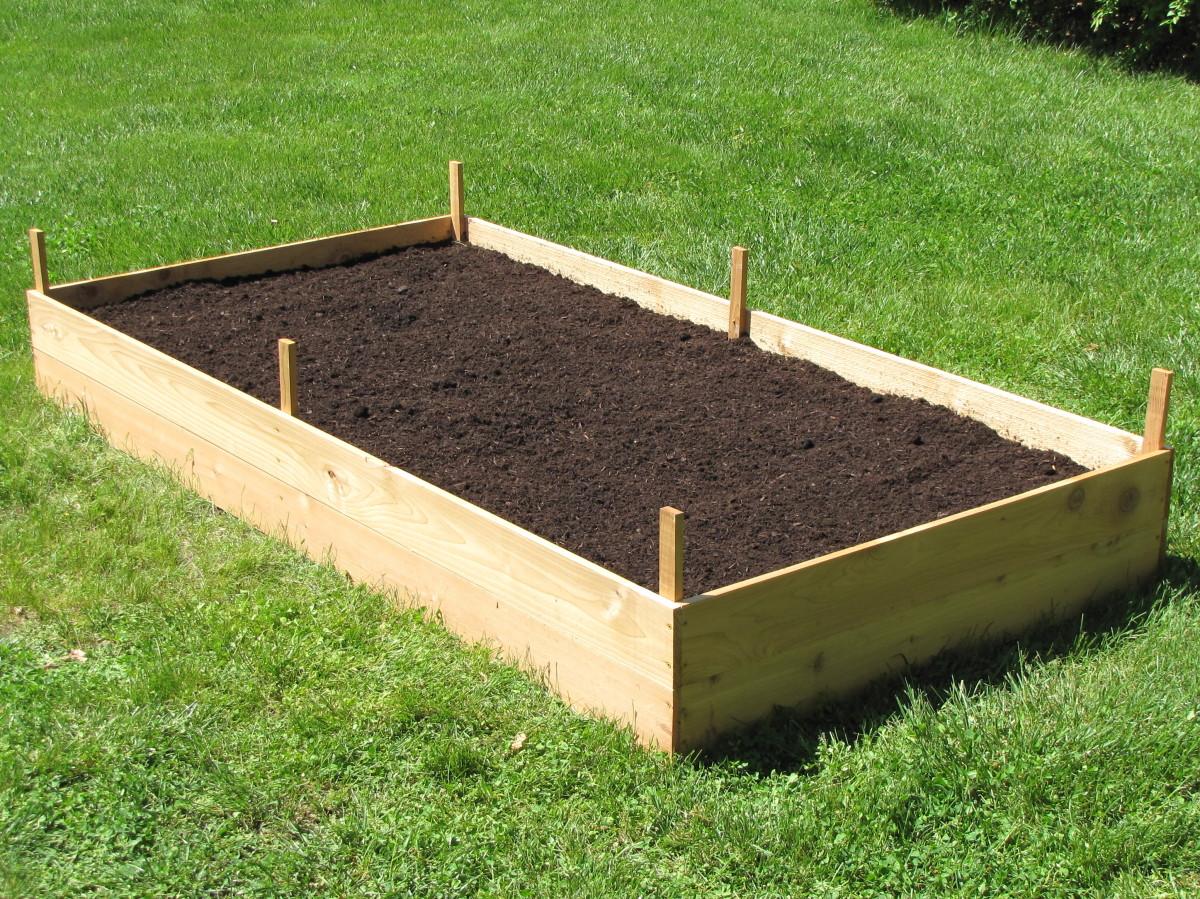 How to Build a Cedar Raised Garden Bed  Dengarden