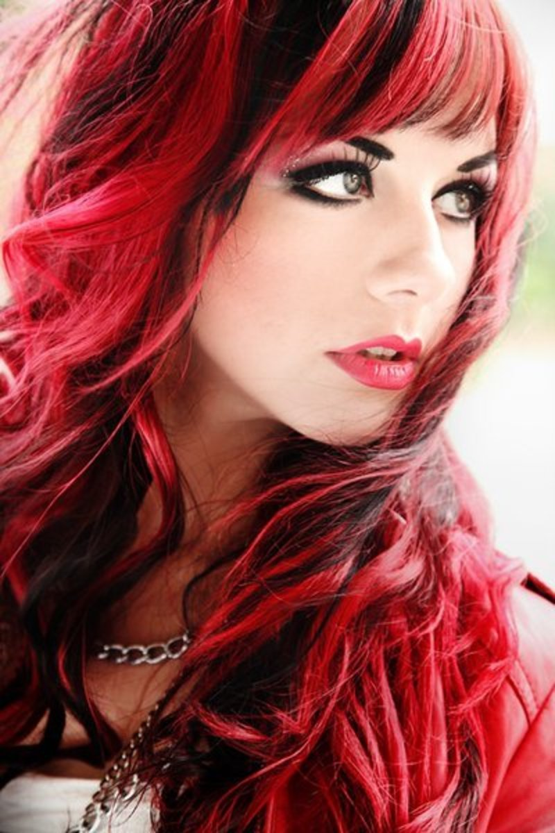 Choosing A Shade Of Red Hair Color Bellatory