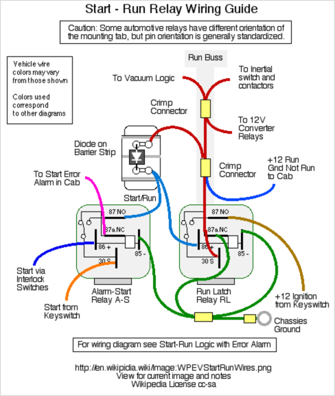 A wiring diagram can help locate potential trouble points on a circuit.