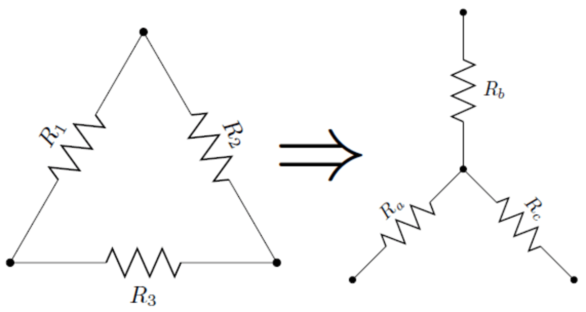 How To Use Delta-to-Wye Transformations In Circuit