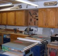 My Woodshop Storage Ideas: Recycling Kitchen Cabinets Into ...