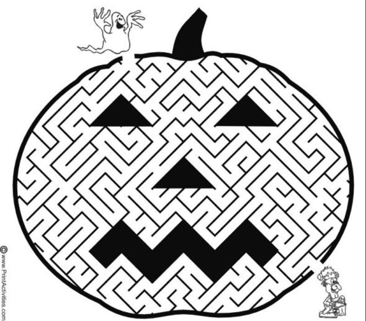 Zi's Children's Halloween KIDS Games & Activities