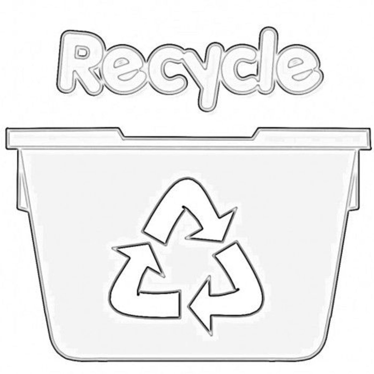 Printables. Recycling For Kids Worksheets