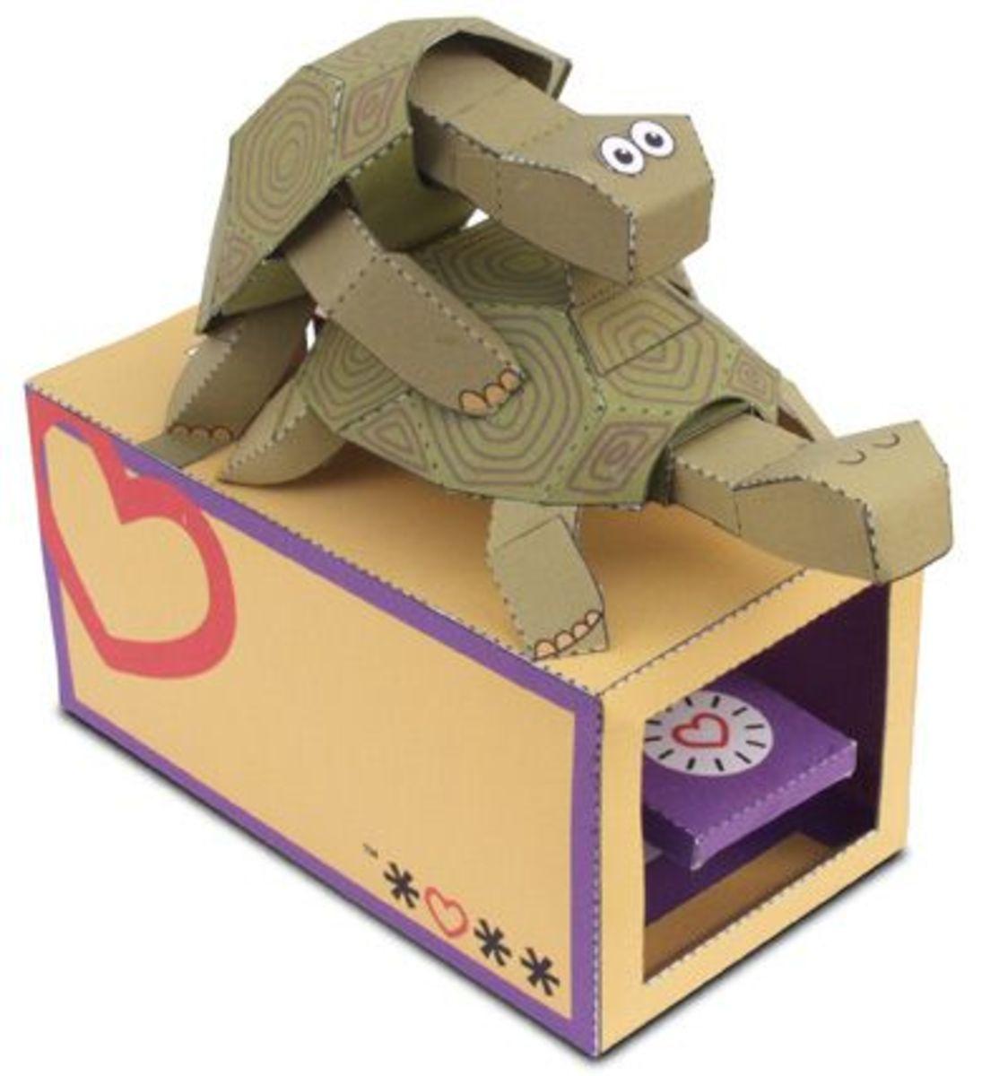 Paper Automata Free Templates Fun Design Ideas And