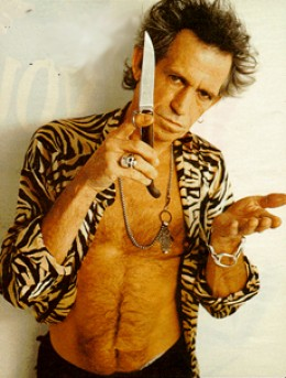 Keith Richards Inspiration